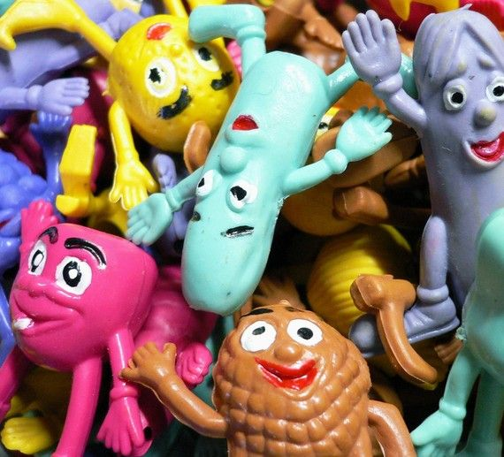 Remember these? → Fruit People Pencil Toppers