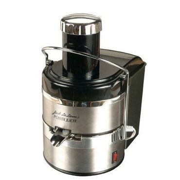 Jack Lalanne Power Juicer Deluxe (JLSS)   Here's our in-depth review of this stainless steel electric juicer.