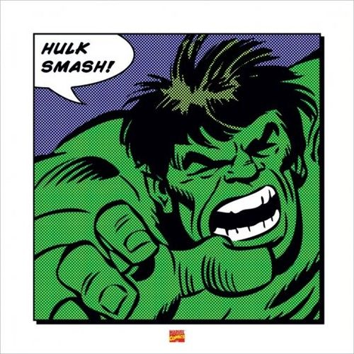 Superhero Art- The Incredible Hulk