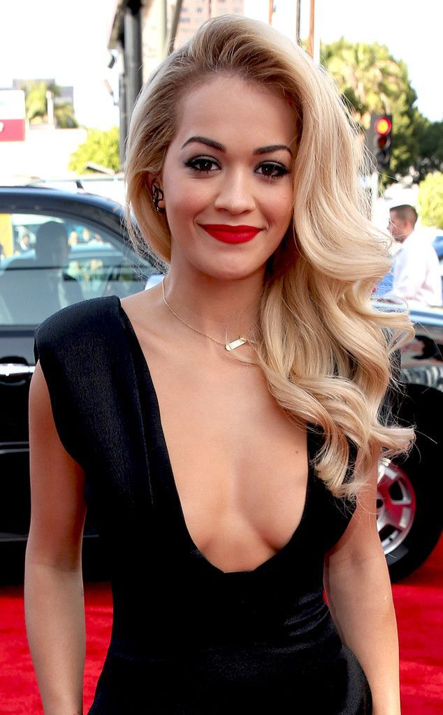Rita Oras hair at the MTV Movie Awards 2014
