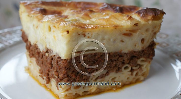 Pastitsio is to Greek cuisine what Lasagna is to Italian cooking. This classic Greek recipe makes for an excellent winter comfort meal. Serv...