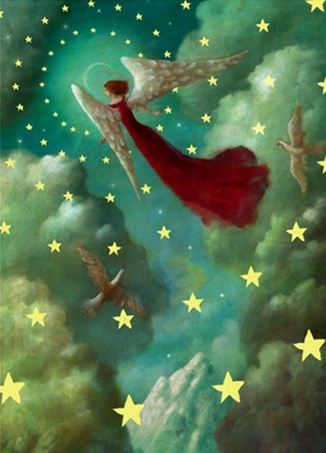 Angel amongst the stars!