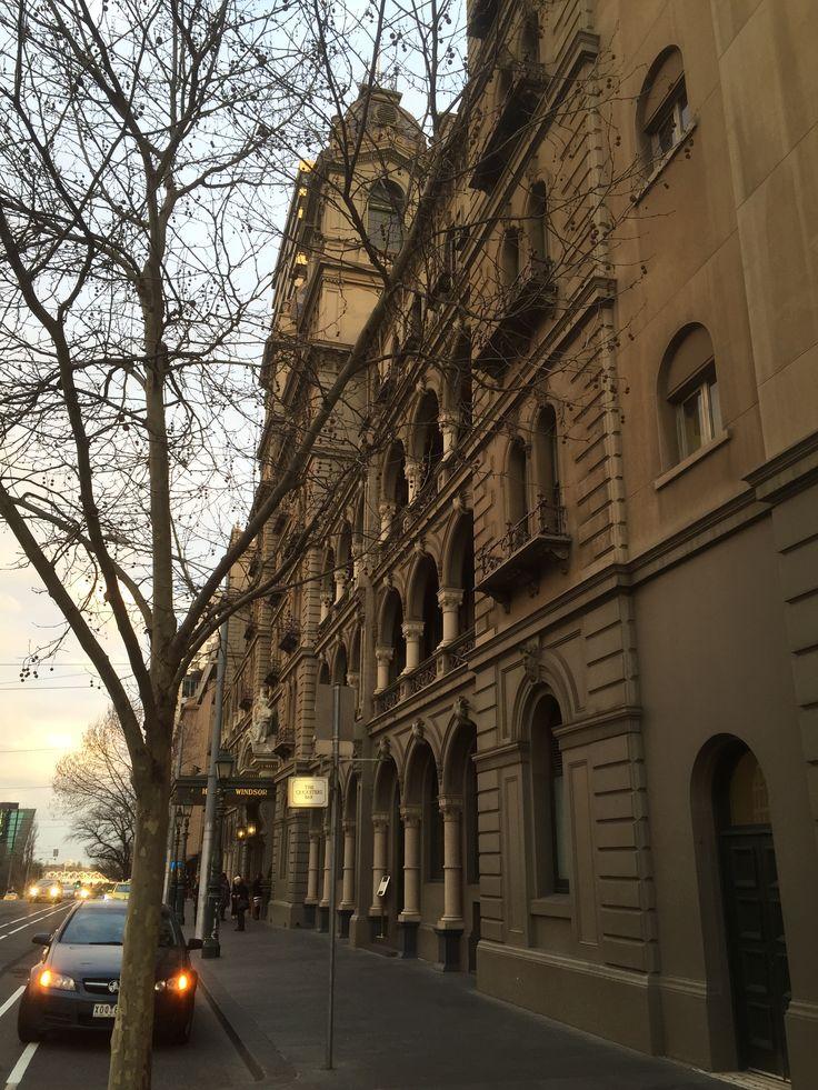 Along side Hotel Windsor Melbourne Victoria, Spring Street