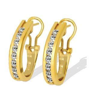 Diamant Ohrringe mit 1.00 Karat Diamanten aus 585er Gelbgold - http://www.juwelierhausabt.de/products/de/Diamant-Ohrringe/Diamant-Ohrringe/Diamant-Ohrringe-mit-100-Karat-Diamanten-aus-585er-Gelbgold2.html