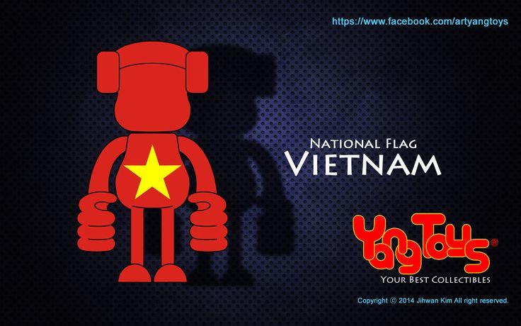 National Flags - Vietnam