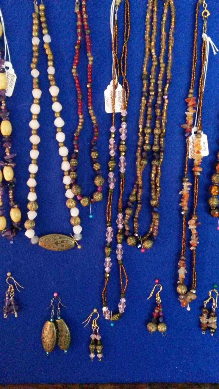 Selection of lovely necklaces - delicate and feminine.