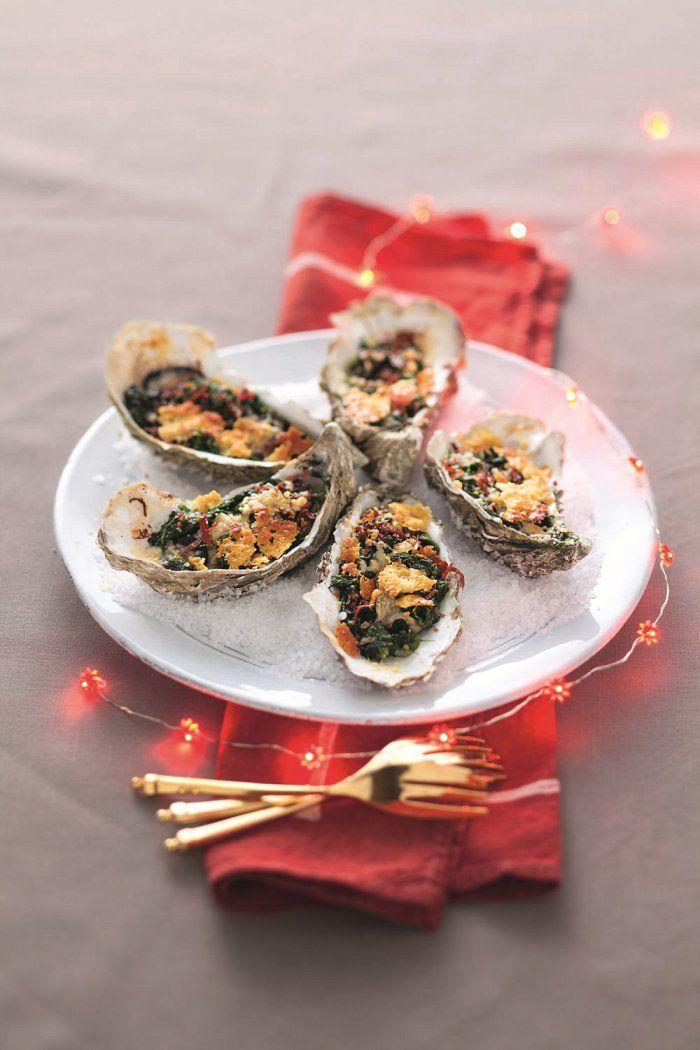 La vraie recette d'huîtres Rockefeller