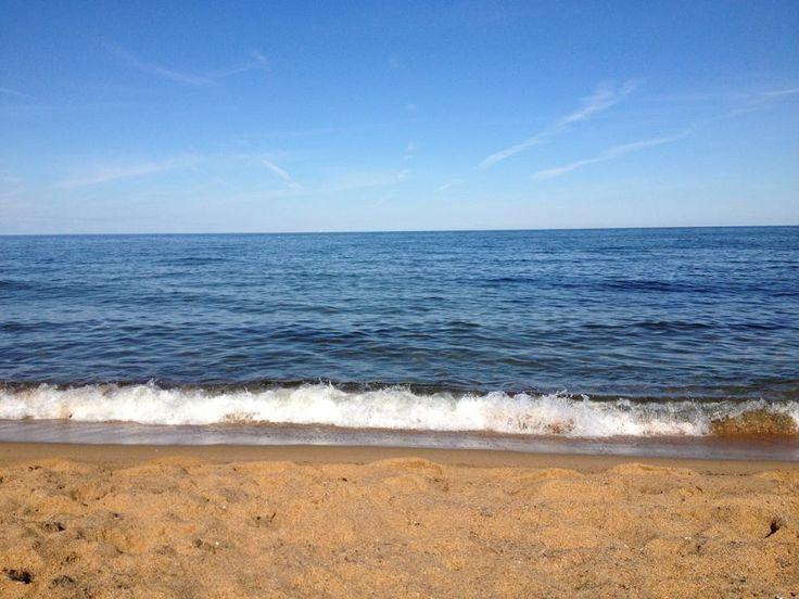 Nästa semester ska jag ha världens bästa autosvar! http://gottarbetsliv.se/nasta-semester-ska-jag/ På bilden: Havet, Vårhallarna utanför Simrishamn, semester augusti 2012