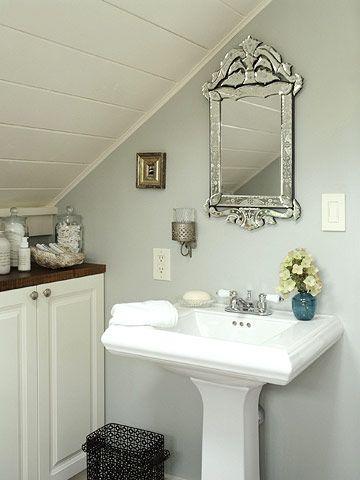 1000 ideas about small attic bathroom on pinterest small attics attic bathroom and loft - Simple ways keep bathroom mirror fogging ...