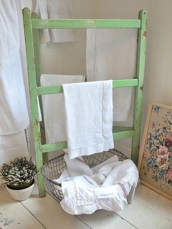 Check out this item in my Etsy shop https://www.etsy.com/uk/listing/584653382/vintage-washing-airer-vintage-clothes