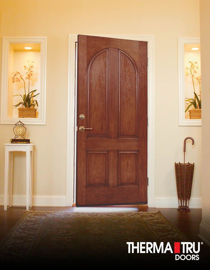 Therma tru classic craft rustic collection fiberglass door for Door 3 facebook