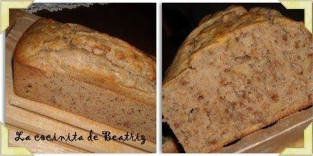 Viene mi madre a casa, con un riquísimo pan de platano recién hecho y...se queda así, tan ancha!!!! Como si yo fuese a comérmelo así, sin m...