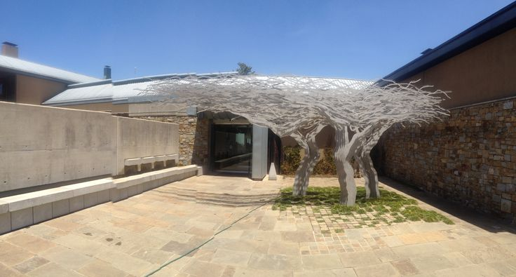 Tree Sculpture at Tokara Wine Estate Estate in Stellenbosch