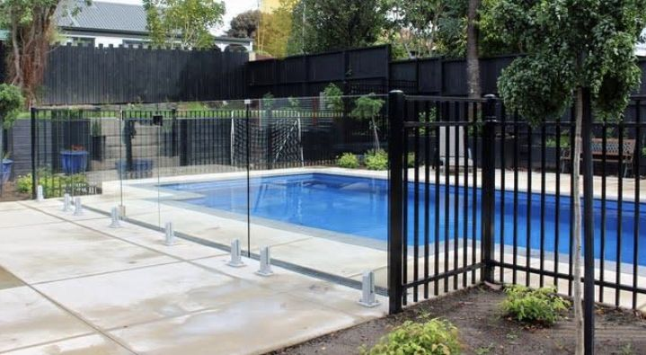 Pin By Matt Smith On Backyard In 2020 Pool Fence Aluminum Pool Fence Best Above Ground Pool