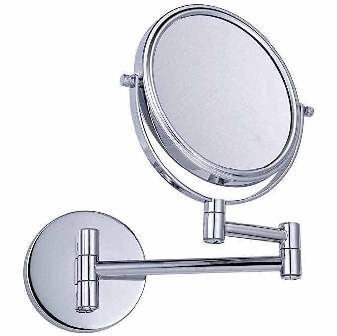 Extendable Magnifying Wall Mirror