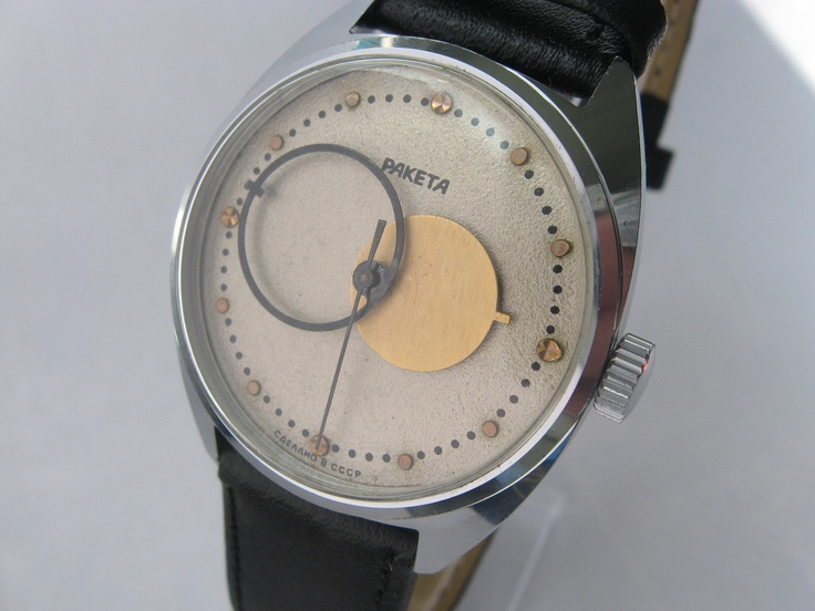 Raketa soviet watch