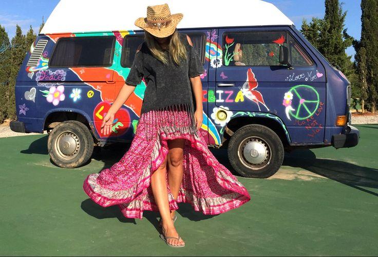 Falda hippie Free Love Ibiza – Ibiza Trendy | Tienda online | Online store