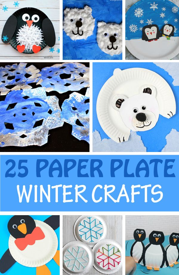 25 Easy Paper Plate Winter Crafts For Kids To Make Winter Crafts