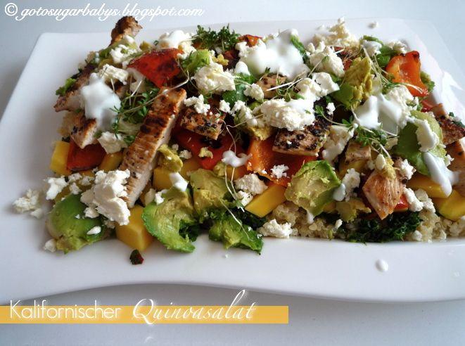 Sugarbaby: Jamie Oliver: Kalifornisch inspirierter Quinoasalat