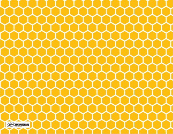 Printable Honeycomb Pattern Bumble Bee Party Pinterest New Bee Pattern