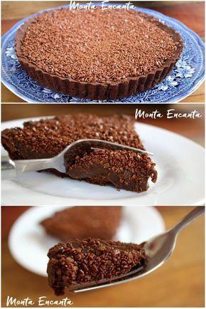 Torta de Brigadeiro, é uma daquelas sobremesas coringas, bem rapidinha de…