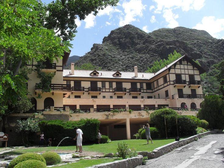 """""""""""HOTEL TERMAL DE VILLAVICENCIO"""""""" Mendoza, Argentina"""