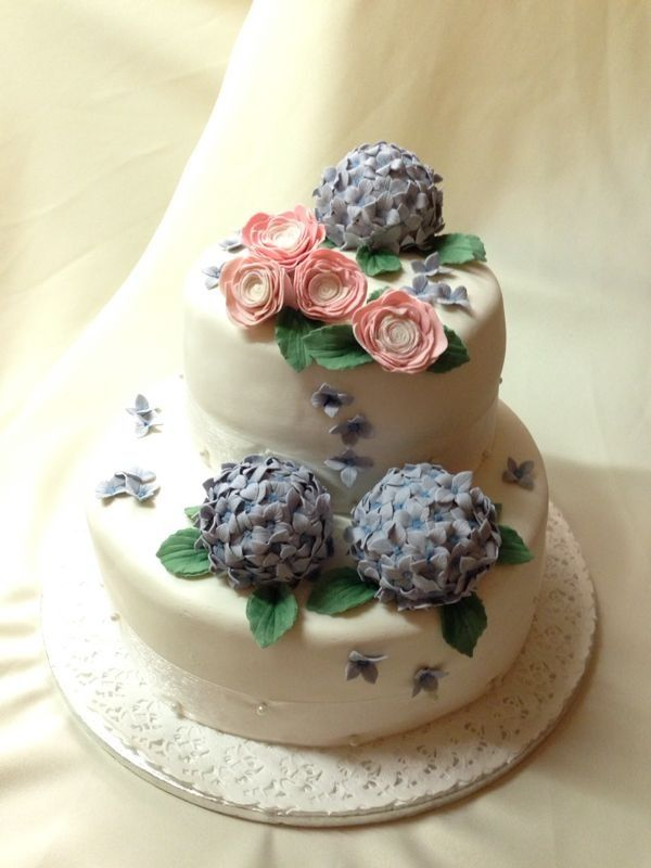 wedding cake Hortensia