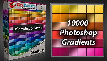 10.000 Photoshop Gradients for only $4