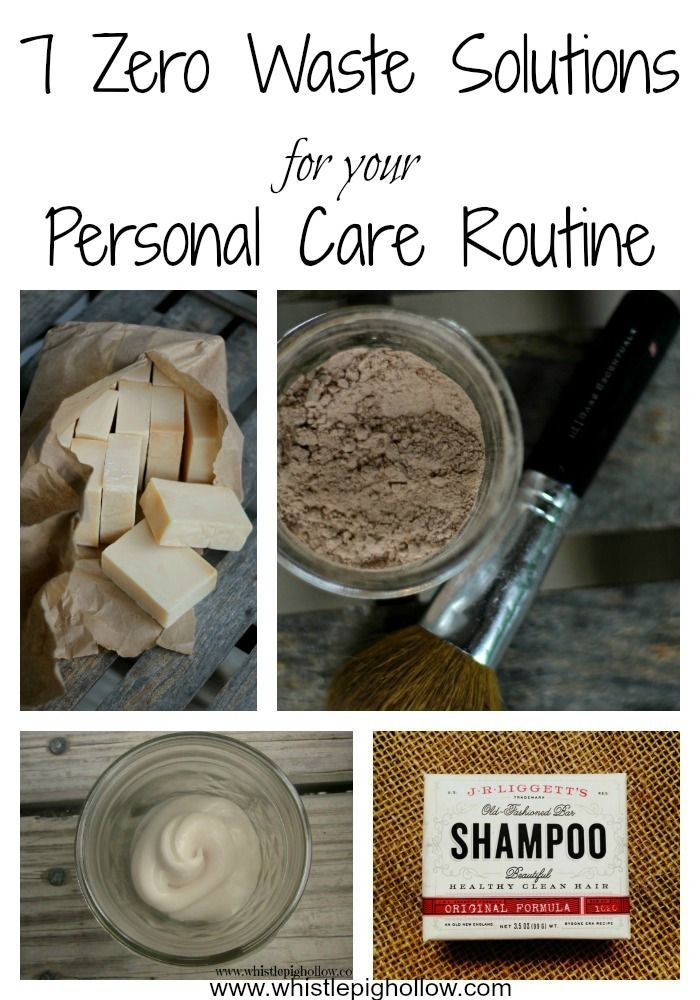 7 Zero Waste Solutions for Your Personal Care Routine