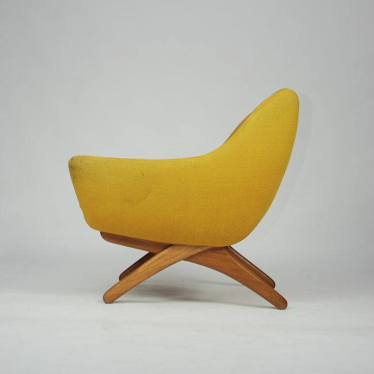Illum Wikkelsø, ML-90 Lounge Chair, 1960.