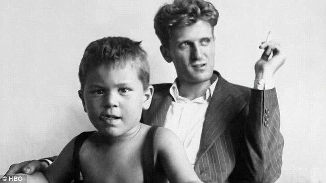 Robert De Niro and his father, Robert De Niro Sr.