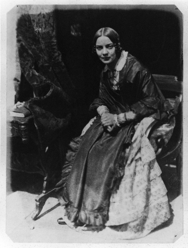 Matilda Smith (née Rigby)by David Octavius Hill, and Robert Adamson calotype, 1843-1848 http://www.npg.org.uk