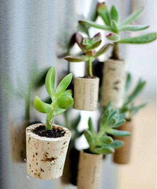 DIY: Vasinhos de rolha