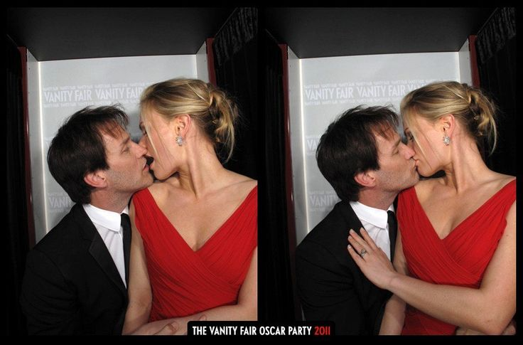 Stephen Moyer and Anna Paquin at the 2011 Vanity Fair Oscar Party.