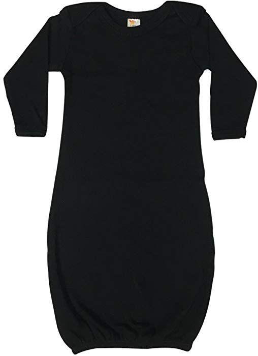 836513595 Amazon.com: The Laughing Giraffe Unisex Long Sleeve Baby Sleeper Gown  (3-6M, White): Clothing