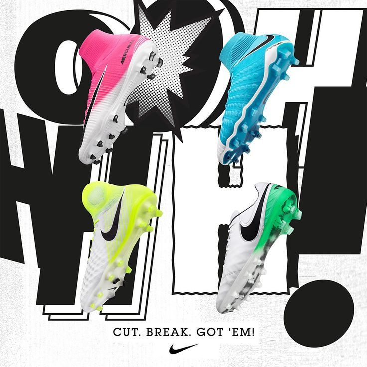 Fresh. Nike Motion Blur pack! Get your cleats here: http://www.soccerpro.com/Nike-Soccer-Shoes-c265/