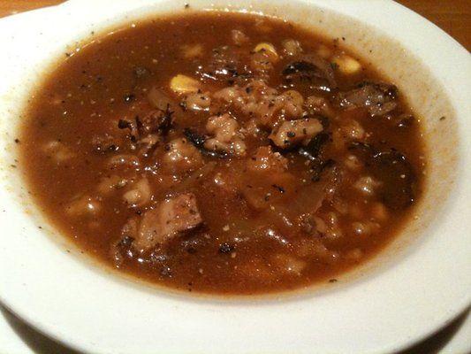 Steak Soup: Black Angus Steakhouse  Copycat Recipe