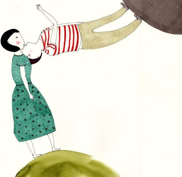 Cristina Barsony - Kickcan & Conkers: Graphics Art, The Kiss Tots, Illustrations Drawings, Illustrations Prints, Art Ceramics, Conkers