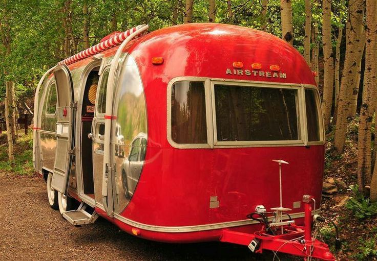 Airstream camper.  Gorgeous