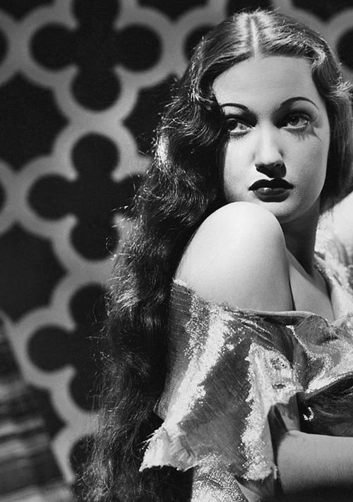 #lulufrost #letsbringback  Long hair with curls!  Dorothy Lamour