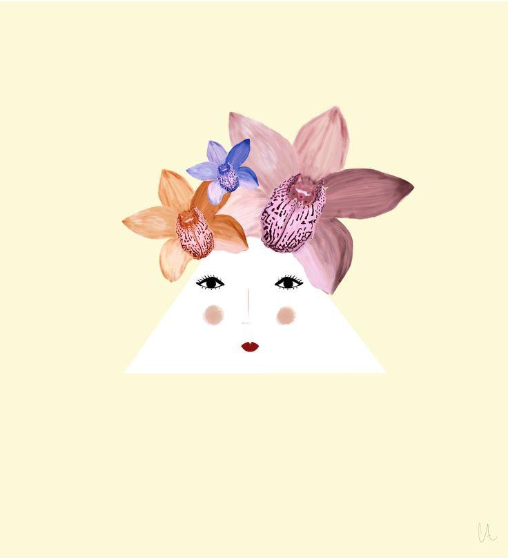 Flower Face - Natalia CA.