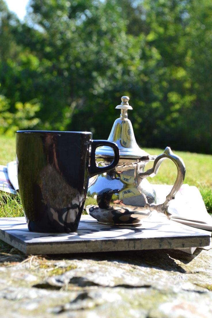 A morroccon teapot