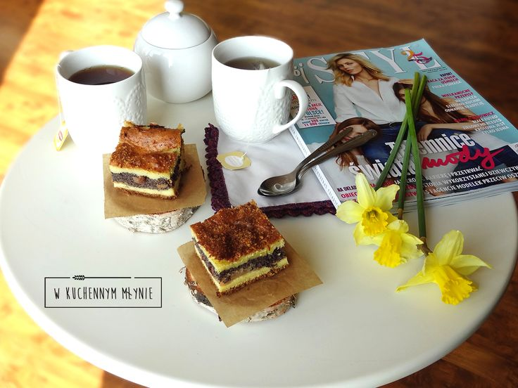 Ciasto jaglano- makowe