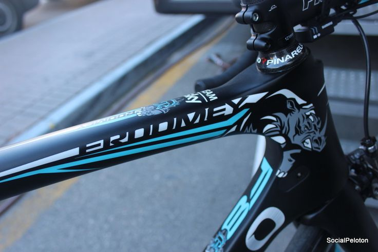Chris Froome 2016 Pinarello F8.  Spotted in Mallorca, Spain during Media Day.