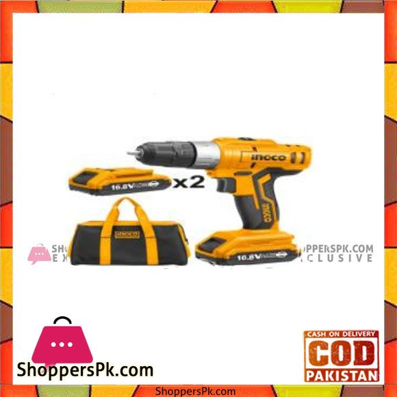 Buy INGCO Lithium-Ion cordless drill - CDLI1612 at Best Price in