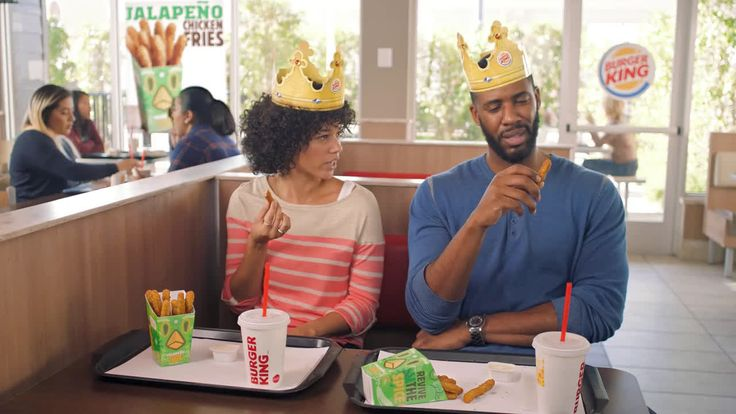 AbanCommercials: Burger King TV Commercial  • Burger King advertsiment  • Jalapeño Chicken Fries • Burger King Jalapeño Chicken Fries TV commercial • The Chicken Fries you love, now with a zesty jalapeño kick. Jalapeño Chicken Fries, now at participating Burger King restaurants for a limited time.