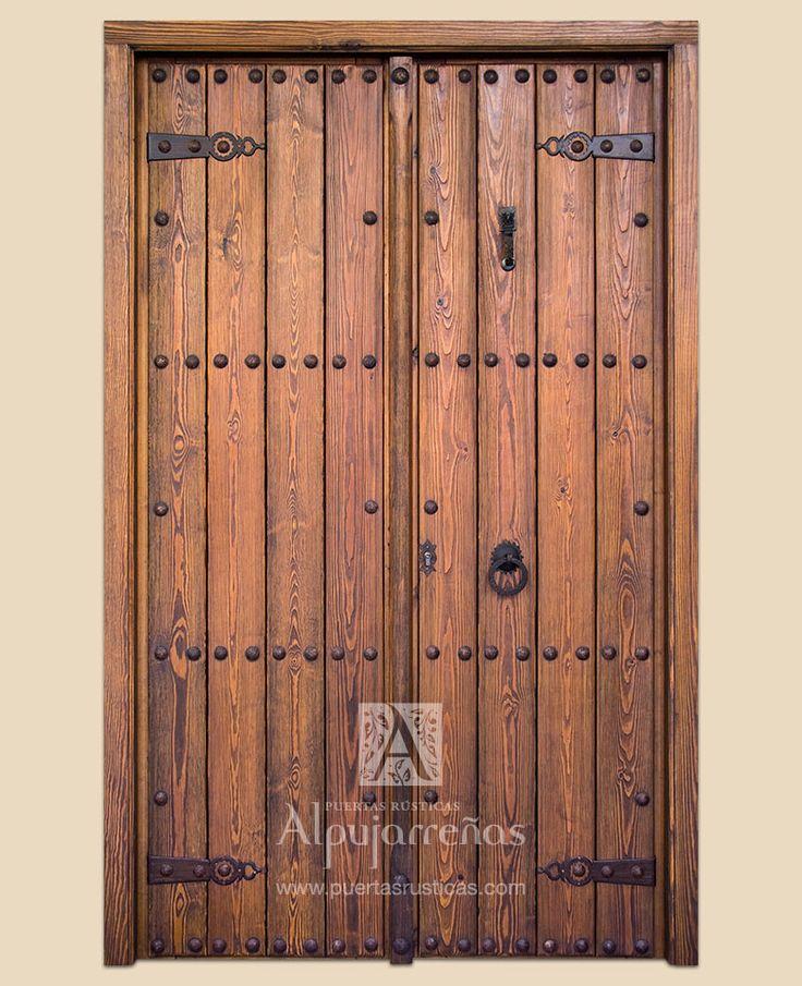 Las 25 mejores ideas sobre puertas de madera rusticas en for Catalogo de puertas de madera