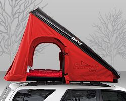 Mobile Roof Top Car Tents that make camping easy. Roost Tents also convert to a roof top cargo storage bin. They are great for outdoor adventures and sporting events.