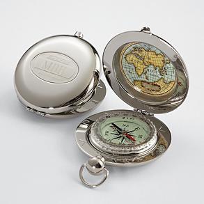 Pocket Compass from RedEnvelope.com