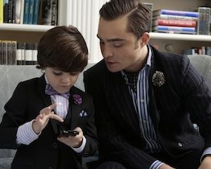 This is beyond adorable - Gossip Girl Series Finale Chuck Henry